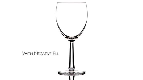 black foam core for wine glass