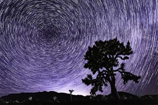 star trail exposure