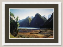 Blue Day At Milford Ltd Edition Framed Print by Grant McSherry