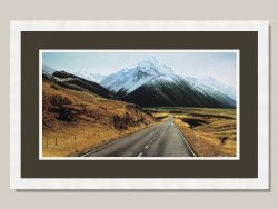 Mt Cook Highway 80 Ltd Edition Framed Print by Grant McSherry