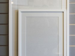 A2 Plus Mat Readymade Frame White