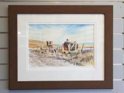 Kelvin McMillan Limited Edition Print – Mailboxes St Bathans