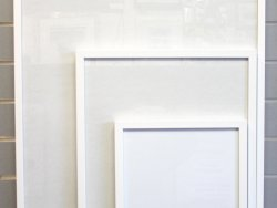 A3 Ready Made Frame White