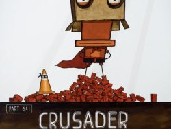 Crusader by Tony Cribb