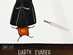 Darth Evader by Tony Cribb