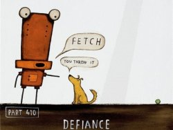 Defiance by Tony Cribb
