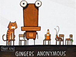 Gingers Anonymous by Tony Cribb