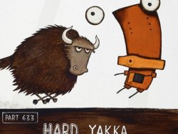 Hard Yakka by Tony Cribb