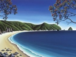 Secluded Cove by Diana Adams