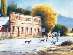The Road Home Cardrona by Garrick Tremain