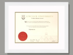 Lincoln University Degree Frame