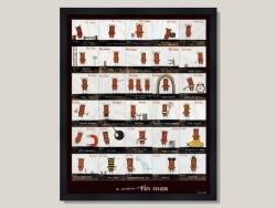 Adventures of Tin Man by Tony Cribb Framed Print