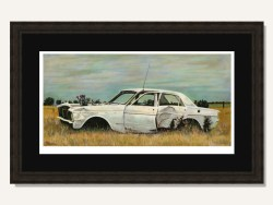 Ford Falcon by Craig B Robertson Limited Edition Framed Print
