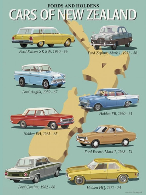 Classic Cars of NZ Ford & Holden