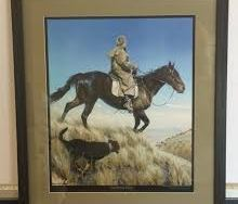 Southern Skies Framed Print by Barry Ross Smith