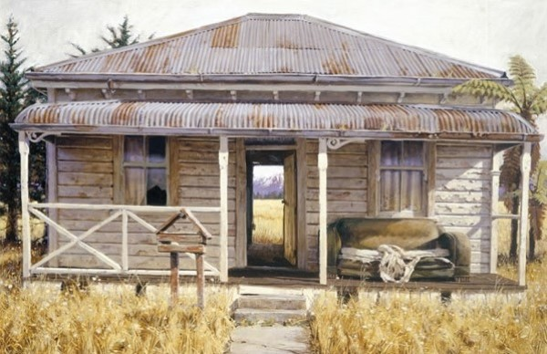 Interior Landscape II Print by Barry Ross Smith