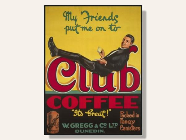Club Coffee Framed Print by Stanley Davis