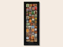 Hawkes Bay Winery Doors Framed Print