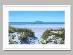 Lifes a Beach Framed Print by Shirley Cresswell