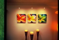Led art lighting - STAS picture hanging systems