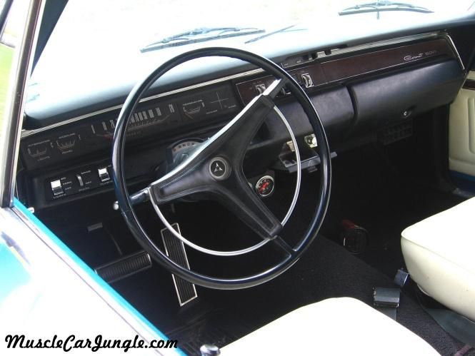 1969 Dodge Coronet Convertible Dash