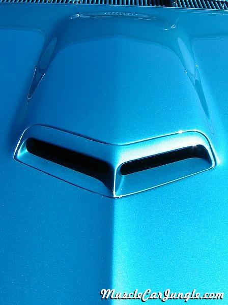 1967 Pontiac Gto Hood Scoop