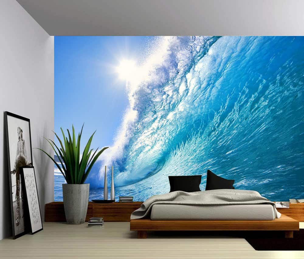 Ocean Wave Wall Mural  Picture Sensations