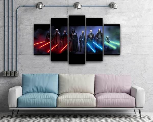 Star Wars Darth Vader Luke Skywalker Jedi And Sith