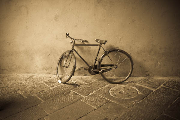 Bike in Lucca, Italy