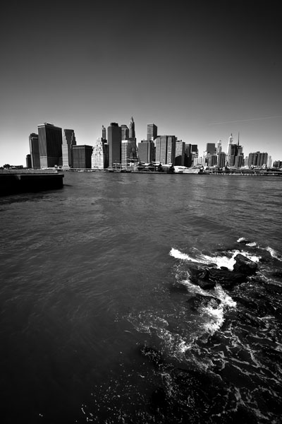Lower Manhattan in Black and White