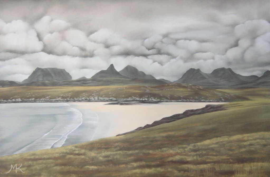Achnahaird Beach - Scotland Landscape Painting