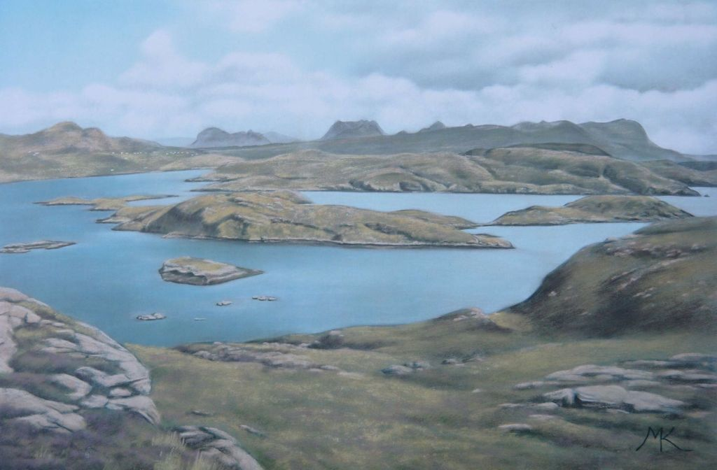 On Tanera Beag - Scotland Landscape Painting