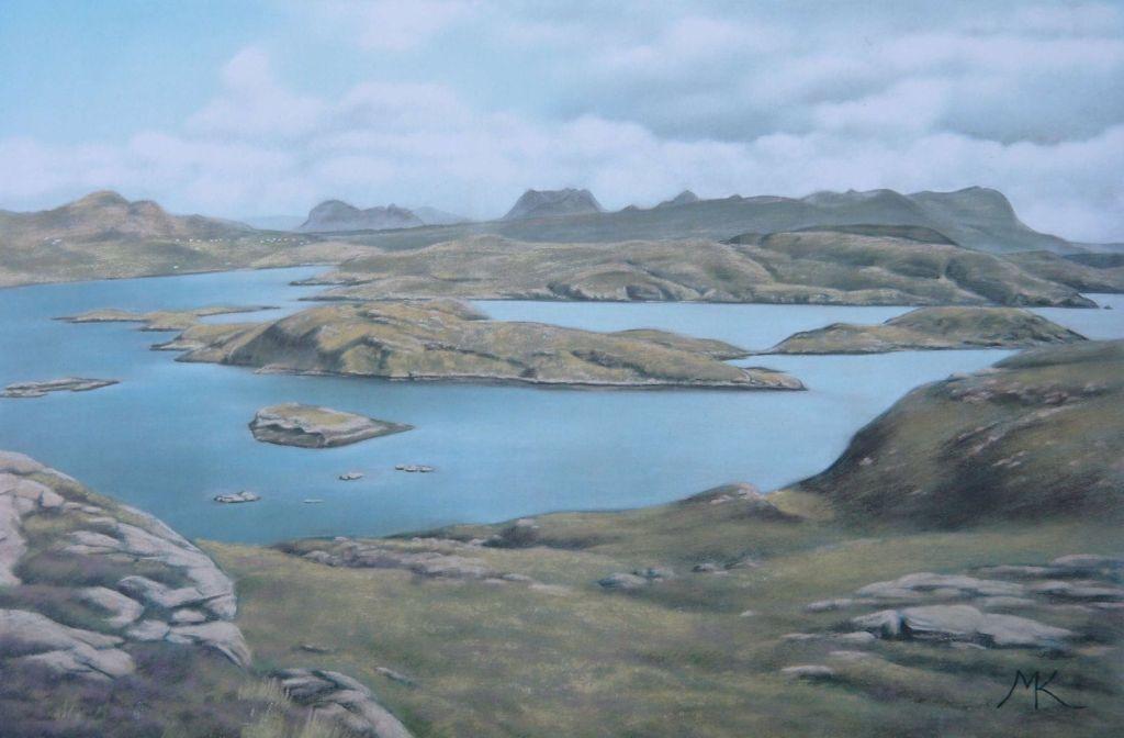 On Tanera Beag - Scotland Landscape Painting
