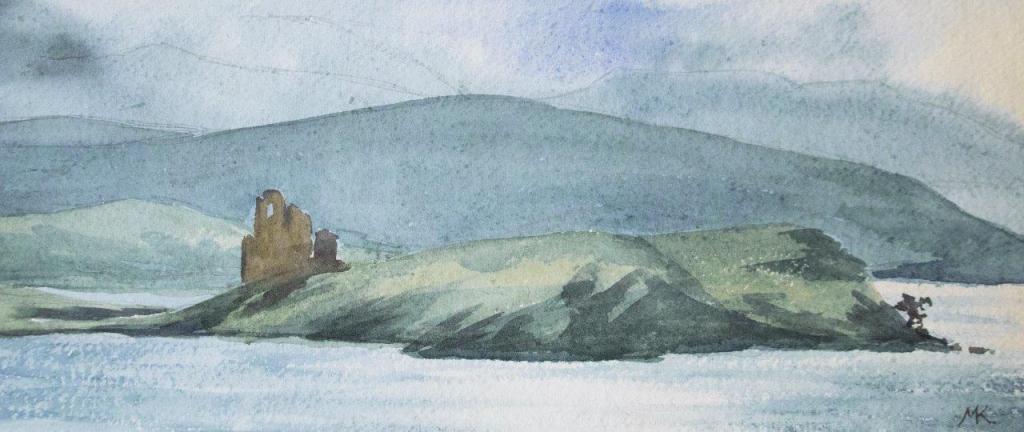Ardvreck Castle print