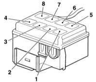 Haus bauen: Электросхема opel zafira b