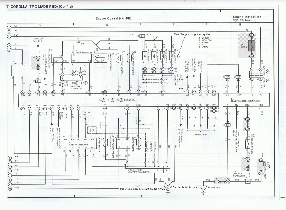 medium resolution of 4age wiring harness diagram schema diagram databasewiring harness toyota levin ae111 wiring diagram img 4age wiring