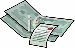 Free Clipart Receipts Cliparts