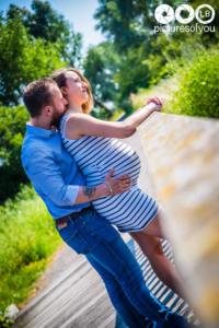 Photo grossesse Sarah et William par Laurent Bossaert - Studio Pictures of You -5