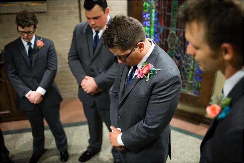 Christ the King Catholic Church Wedding Cain's Ballroom Reception Tulsa Oklahoma_0022