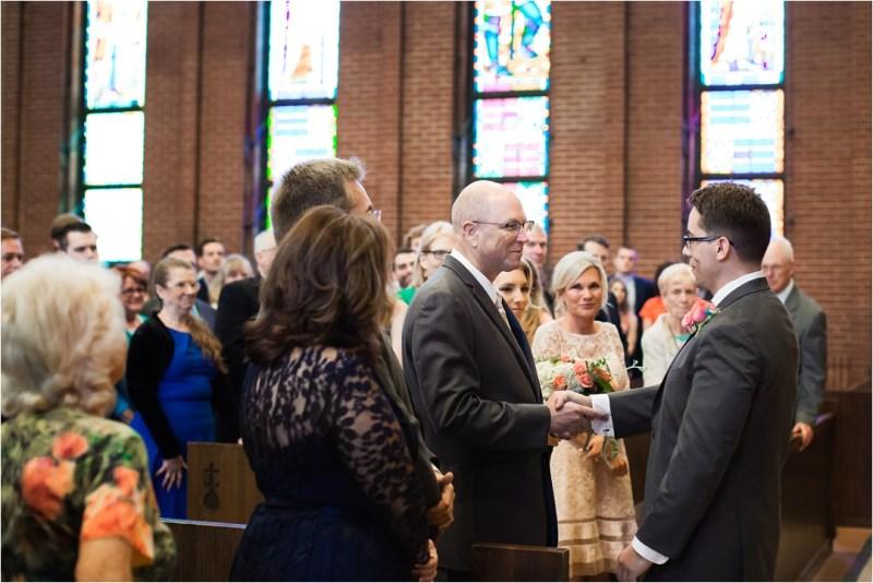 Christ the King Catholic Church Wedding Cain's Ballroom Reception Tulsa Oklahoma_0027