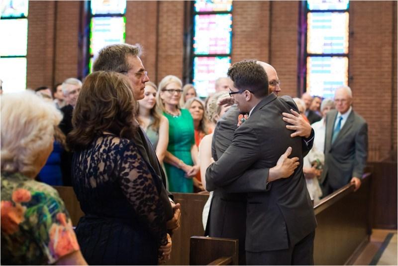Christ the King Catholic Church Wedding Cain's Ballroom Reception Tulsa Oklahoma_0028