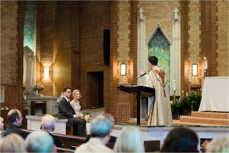 Christ the King Catholic Church Wedding Cain's Ballroom Reception Tulsa Oklahoma_0032
