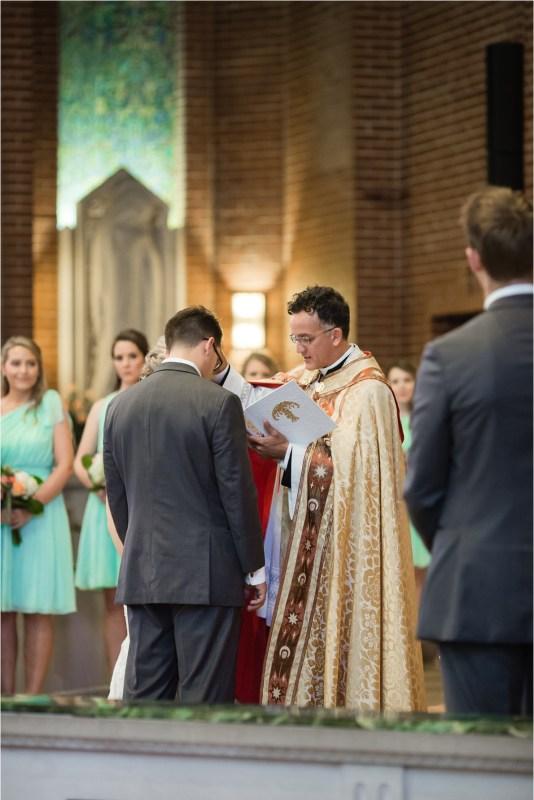 Christ the King Catholic Church Wedding Cain's Ballroom Reception Tulsa Oklahoma_0039