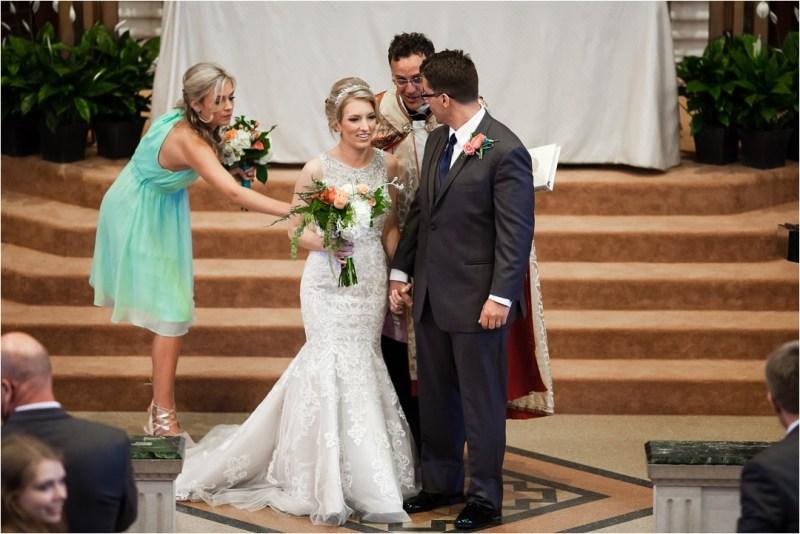 Christ the King Catholic Church Wedding Cain's Ballroom Reception Tulsa Oklahoma_0040