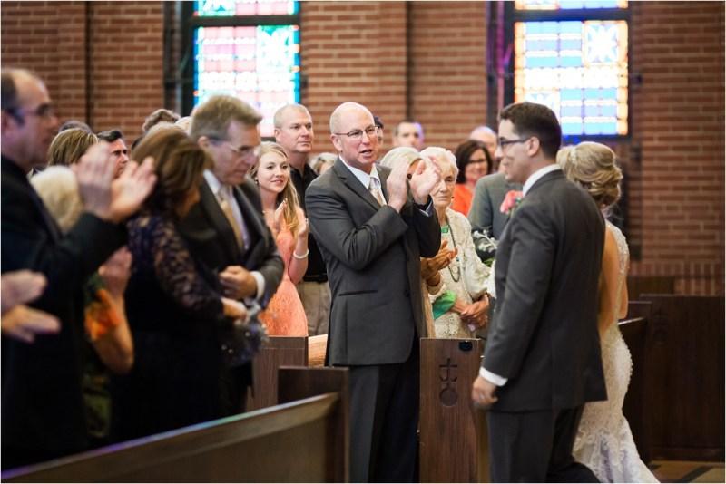 Christ the King Catholic Church Wedding Cain's Ballroom Reception Tulsa Oklahoma_0041