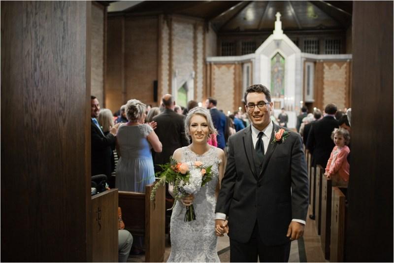 Christ the King Catholic Church Wedding Cain's Ballroom Reception Tulsa Oklahoma_0042