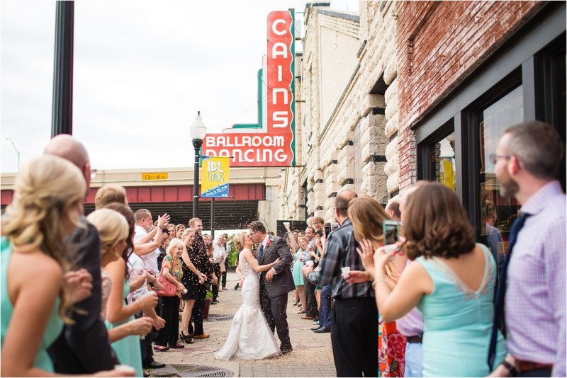 Christ the King Catholic Church Wedding Cain's Ballroom Reception Tulsa Oklahoma_0078