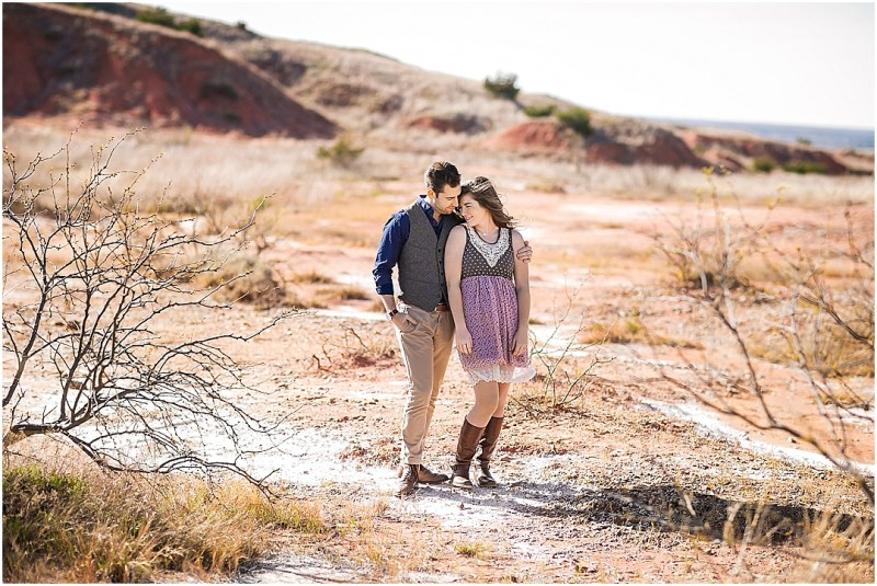 Gloss Mountain State Park Engagement Session Enid Oklahoma Tulsa Wedding_0038