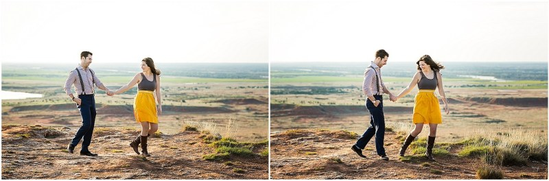 Gloss Mountain State Park Engagement Session Enid Oklahoma Tulsa Wedding_0073
