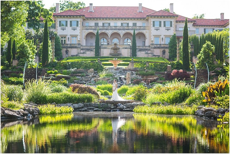 Philbrook Museum of Art Wedding Bridal Picturesque Photos by Amanda_0005